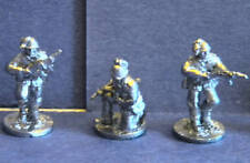 SHQ IS01B 1/76 Diecast WWII Italian NCOs with SMG's-Three