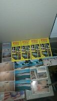 LOT OF WAKULLA MOTEL, COCOA BEACH, FL PAMPHLETS & POSTCARDS, 1960'S EARLY 80'S