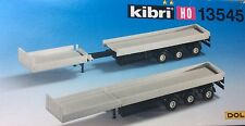 KIBRI HO 13545 Extendable Trailers, two in the box, long discontinued