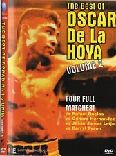 BEST OF OSCAR DE LA HOYA VOL.2 VS RUELAS, HERNANDEZ, LEIJA & TYSON BOXING DVD