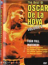 BEST OF OSCAR DE LA HOYA VOL.2 VS RUELAS, HERNANDEZ, LEIJA & TYSON BOXING DVD