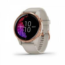 Garmin venu свет песок AMOLED GPS-часы с роза золотой фурнитурой 010-02173-21