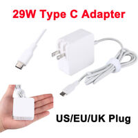 "Type C USB-C 29W AC Power Supply Adapter Charger for Macbook 12"" UK/US/EU plug"