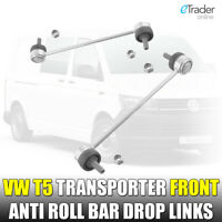 VW T5 Front Anti Roll Bar Drop Links Pair Link Volkswagen Transporter 03-16 New