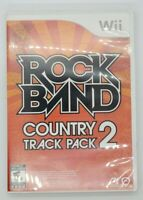 Rock Band Country Track Pack 2 (Nintendo Wii, 2009) COMPLETE Free Shipping