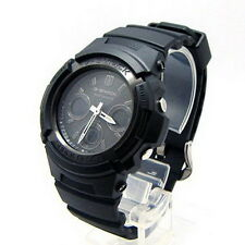 Casio G-Shock Black IP Ana-Digi Men's Watch AWG-M100B-1A