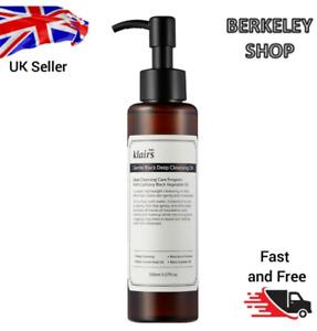 KLAIRS Gentle Black Deep Cleansing Oil 150ml Easily Washable / Vegan, UK Seller
