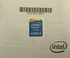 Intel Core i3 inside Sticker Aufkleber Logo 18mm x 18mm - Notebook Laptop PC old