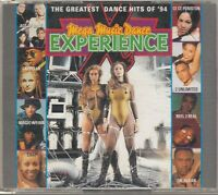 MEGA MUSIC DANCE EXPERIENCE 2-CD BOX Snap 2 Unlimited Culture Beat EURODANCE