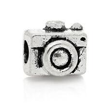 Camera Photography Photo Wedding Photographer Travel Charm for European Bracelet