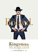 Kingsman The Golden Circle Movie Poster (24x36) - Pedro Pascal, Taron Egerton v3