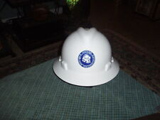 Vintage MATCON CONSTRUCTION SERVICES V-GAURD Safety hard Hat CSA Class E