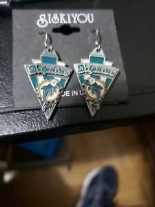 Siskiyou  Miami Dolphins Earrings
