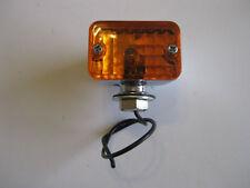 CHROME SMALL AMBER HOTROD INDICATOR LIGHT RATROD UTE CUSTOM FORD CHEV HOLDEN