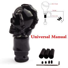 Car Skull Head Manual Transmission Shift Knob Gear Stick Shifter Lever Black