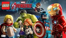 Lego Marvel Avengers PC Steam Code Key NEW Download Game Fast Region Free