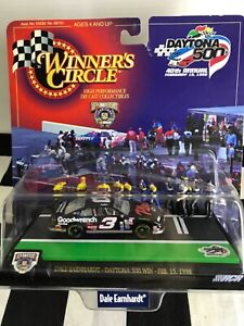 UNOPENED 1:64 Dale Earnhardt #3 GMGW Plus 1998 Daytona 500 Win Diorama
