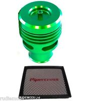 Ford Focus ST Green Collins Dump Valve Kit AND Pipercross Panel Air Filter