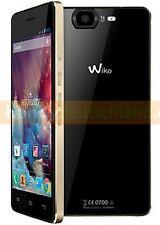 Wiko Highway ✔ Schwarz Gold ✔ Android Smartphone ✔ Handy ohne Vertrag ✔