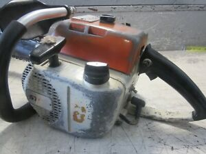 """VINTAGE COLLECTIBLE STIHL 041 FARMBOSS CHAINSAW WITH 20"""" BAR"""