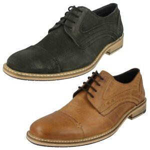 Mens Maverick Lace Up - Shoe Stitched Panels and Toe Cap