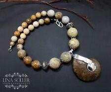 Natürliche Echtschmuck-Halsketten & -Anhänger mit Koralle für Damen