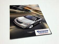 2009 Chrysler Sebring Convertible Preview Brochure