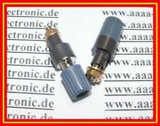 Hirschmann di sicurezza polklemme Grigio Marrone 4mm 1 PZ