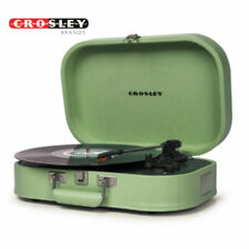 Crosley Discovery Portable Bluetooth Record Player Turntable Seafoam Green - New