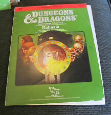 Module B7 Rahasia TSR 1984 dungeons and dragons d&d ad&d 9115 rare tracy hickman