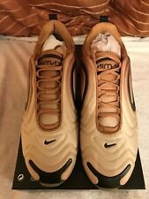 Nike Air max 720 men's trainers brand new in box uk size 9 wheat / black / gold