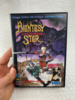 "Phantasy Star IV The End of the Millennium ""Good Condition"" Sega Megadrive Japan"