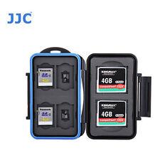 JJC MC-STC10 Memory Card Case fits 2 CF 4 SD 4 MSD Storage NEW camera