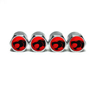ThunderCats Tire Valve Stem Caps - Chrome Surface - Set of Four