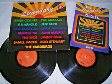 2 LP LEGENDARY Clapton ANIMALS SMALL FACES Yardbirds Mayall Humble Pie # cleaned