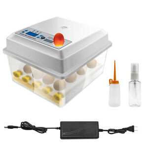 Egg Incubator 12-16 Eggs Fully Digital Automatic Hatcher for Hatching Chicken