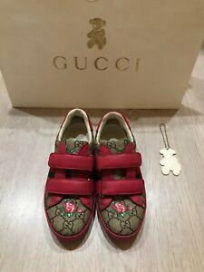 Gucci kids sneaker size EUR 33 (US 14, UK 13.5)