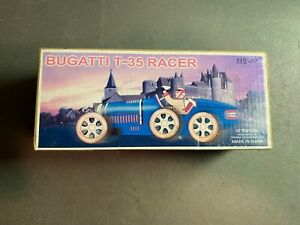 Bugatti T-35 Racer Tin Toy Car Collectible New in the Box