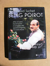 Being Poirot (DVD, 2016) documentary on the series, viewed once condition, NICE!