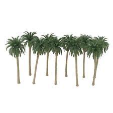 10 Model Train Railway Coconut Palm Tree Diorama Landscape Scene OO HO 1/100