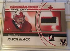 11/12 ITG CANADA VS THE WORLD - DEVAN DUBNYK - PATCH - #1/1 - 15/16 FINAL VAULT