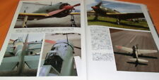 Japanese Fighters Photo Book japan zero Mitsubishi A6M hayate #0656