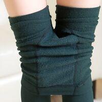 Warm Fleece lined Womens Winter Thermal Thick Skinny Slim Leggings Stretch Pants