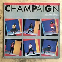 Champagne Modern Heart 1983 Vinyl LP Columbia Records FC 38284