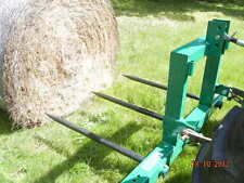HAYES HAY BALE FORKS PALLET FORKS COMBO - TRACTOR 3 POINT LINKAGE