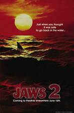 """Jaws 2 Movie Poster [Licensed-New-Usa] 27x40"""" Theater Size (Teaser) 1979"""