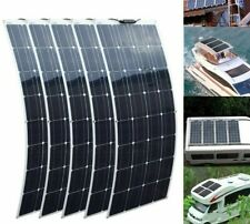 Mono-crystalline Solar Panel Cell Flexible 12V 24 Volt 100 Watts Solar Batteries