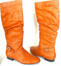 STYLE & CO (PETTRA COGNAC KNEE HIGH BOOT) WOMENS SIZE 8 NEW!!!