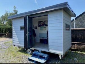 Mobile Office/ Garden Room/ Glamping Pod
