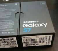 """New"" Samsung Galaxy S7 32GB SM-G930A AT&T Only GSM 4G Smartphone Black Gold"